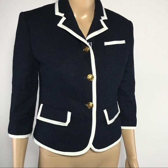 fa0413d531c77 Thom Browne Neiman Marcus Target Wool Blazer